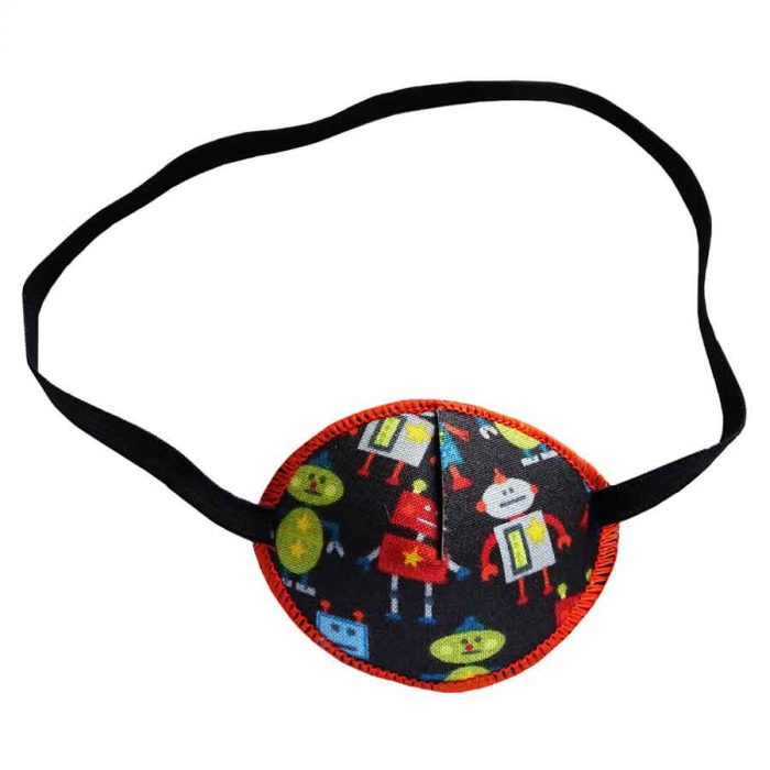 Androids colourful eye patch for children for effective amblyopia treatment