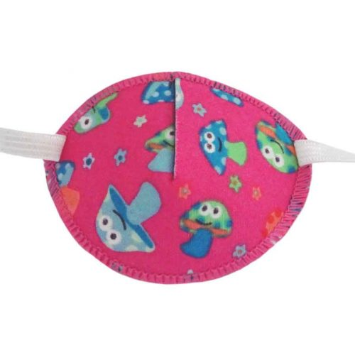 Fairy Toadstools Eye Patch