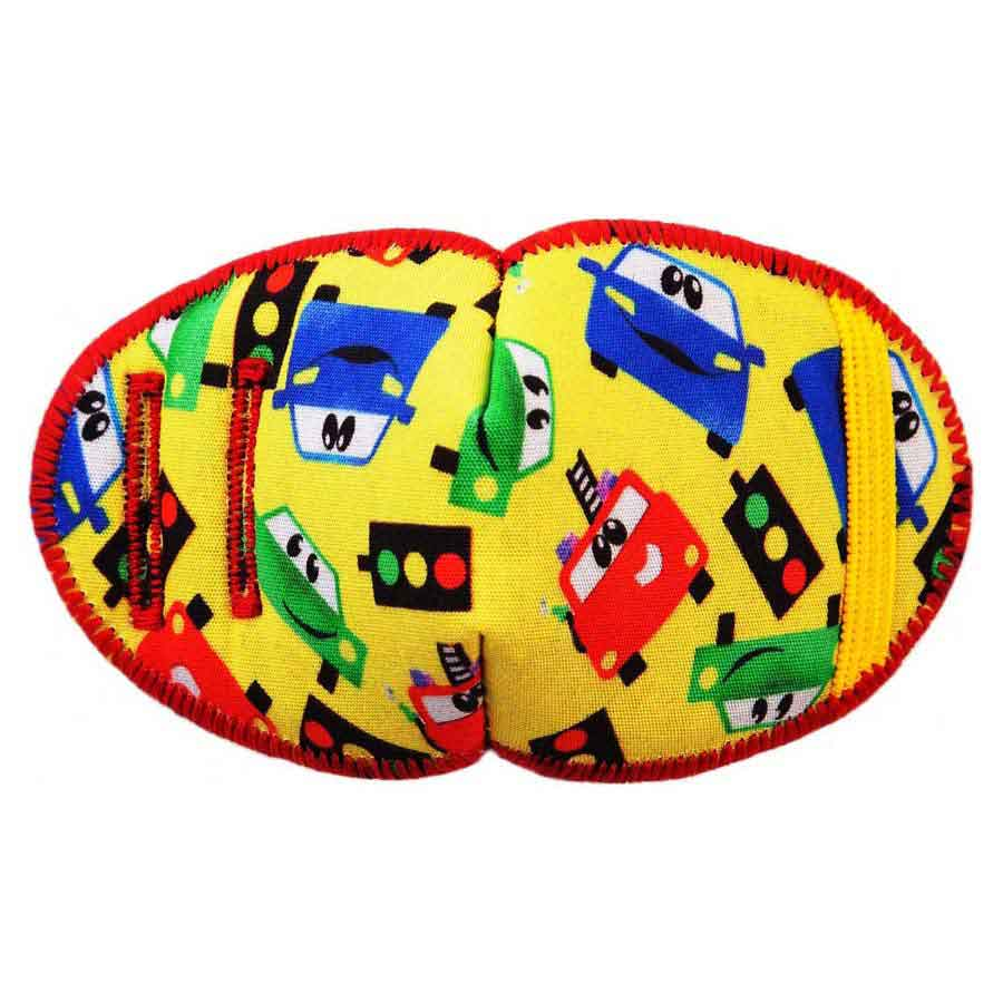 Fire soft reusable fabric eye patch for children with glasses