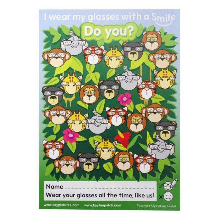 Jungle Glasses Charts