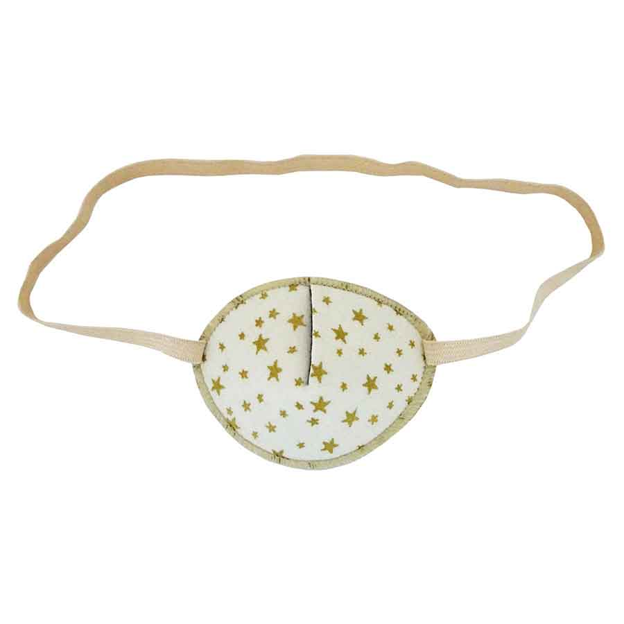 Golden Stars eye patch