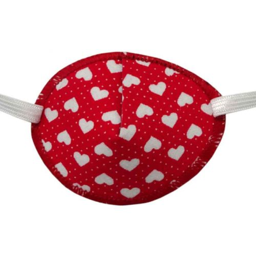 Hearts Eye Patch