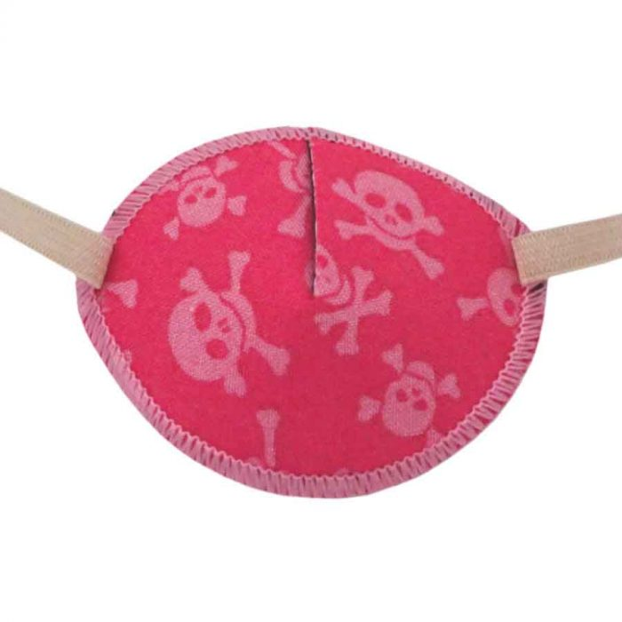 Pink Pirate Eye Patch