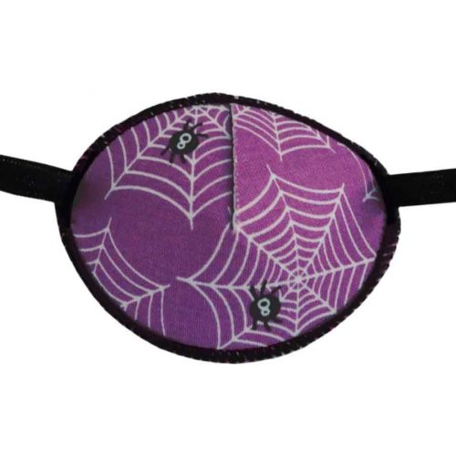 Purple Spiders Eye Patch