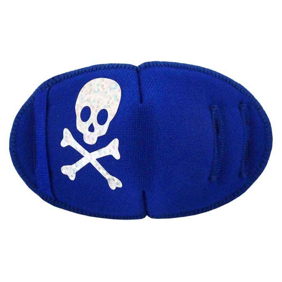 Pirate Eye patch for glasses Silver Sparkle