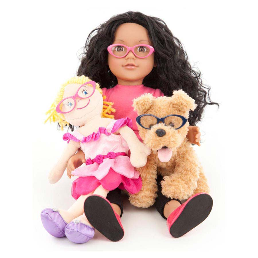 Eye patch toy glasses