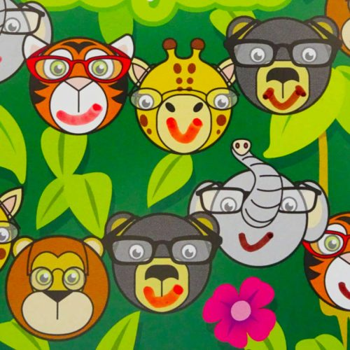 Jungle Glasses Charts Kay Fun Patch
