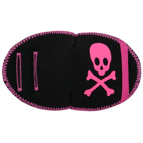 Neon Pink Pirate Patch Medical Eye Patch for amblyopia treatment