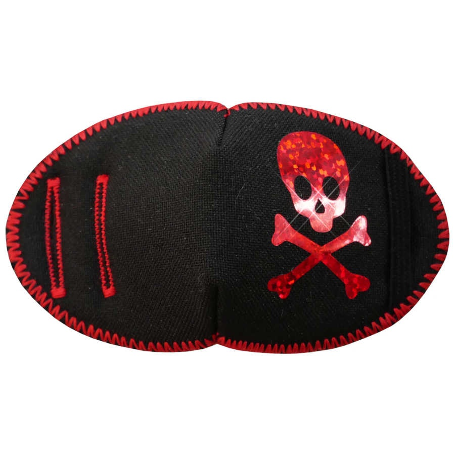 Red Sparkle Pirate Eye Patch for Children with Amblyopia