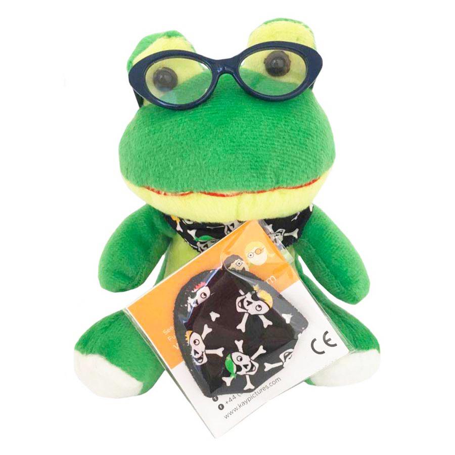 Froggy Friends Pirate Skulls
