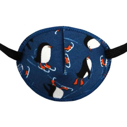 Winter Wonderland colourful eye patch for children for effective amblyopia treatment