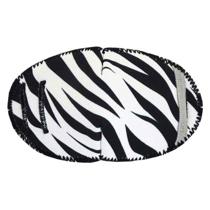 Zebra eye patch for glasses Kay Fun Patch