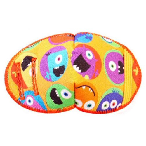 Monster Circles eye patch for glasses