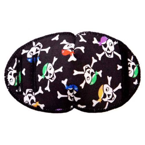Pirate Skulls eye patch for glasses