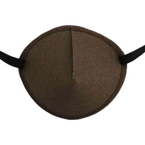 Kay Adult Eye Patch Light Brown Regular