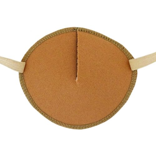 Kay Adult Eye Patch Caramel