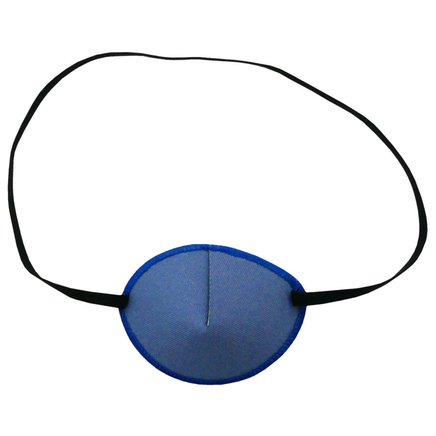Kay Adult Eye Patch Denim Small medical fabric eye patch for adults UK
