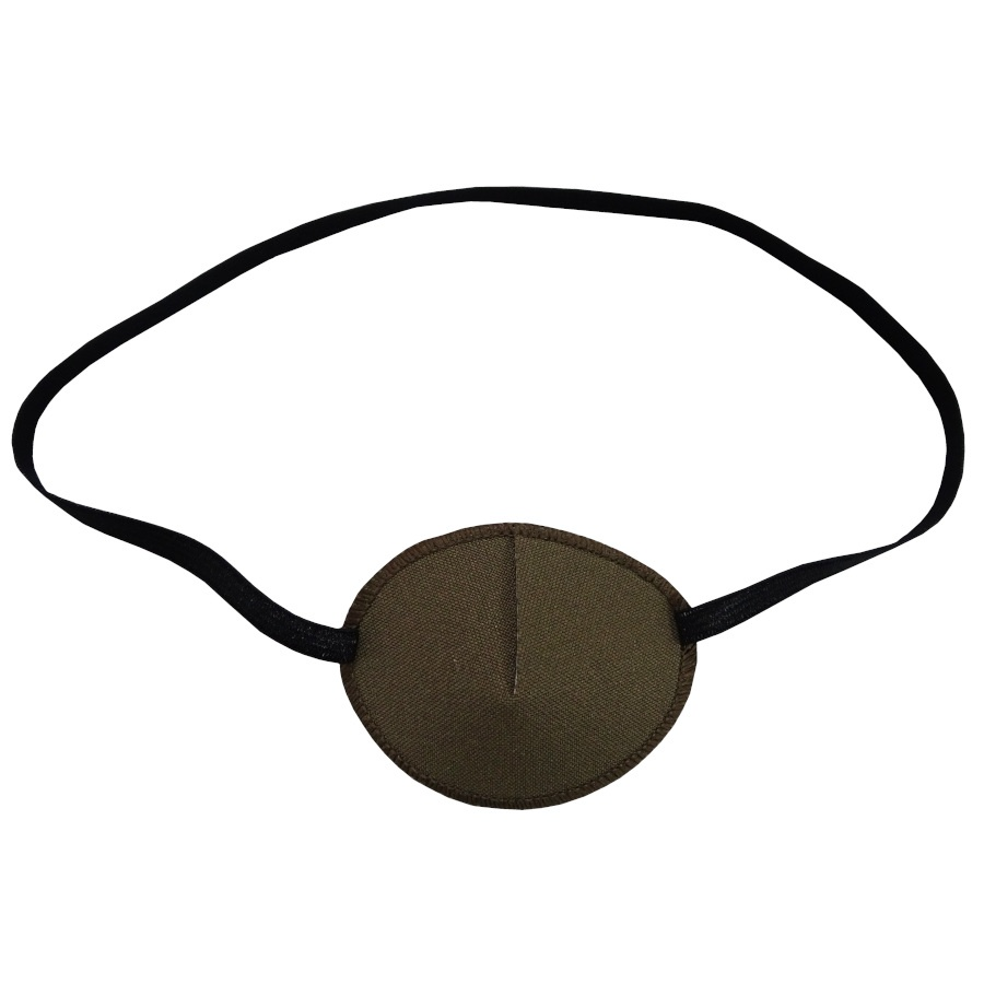 Kay Adult Eye Patch Brown Small
