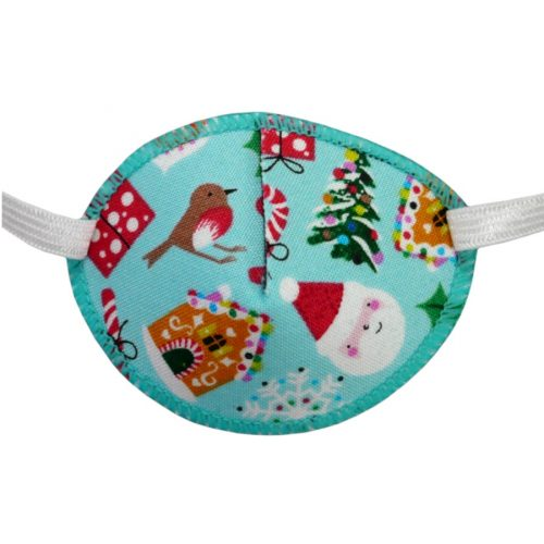 Kay Fun Patch Christmas Time colourful eye patch for children for effective amblyopia treatment