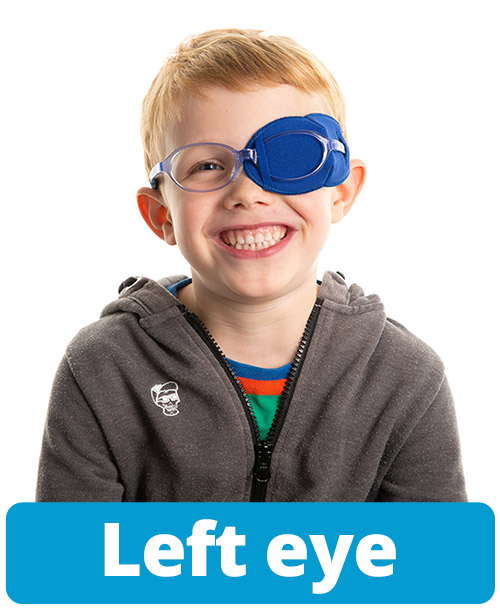 Instructions left eye