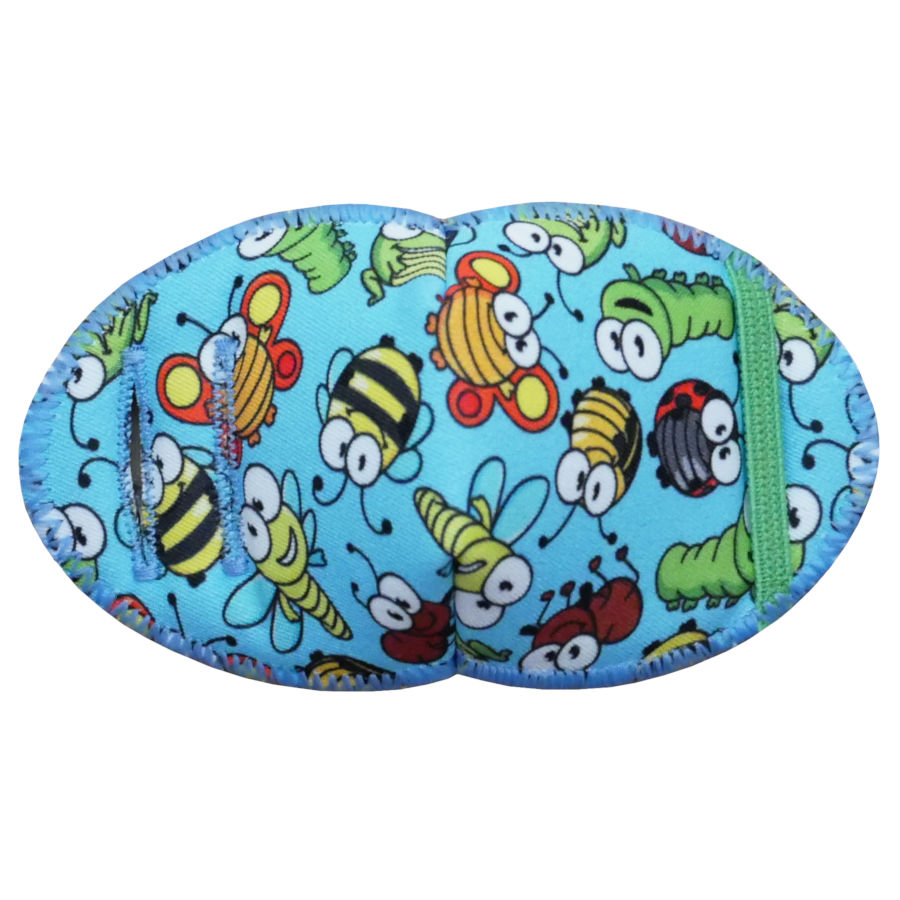 Garden Bugs Eye Patch for Glasses